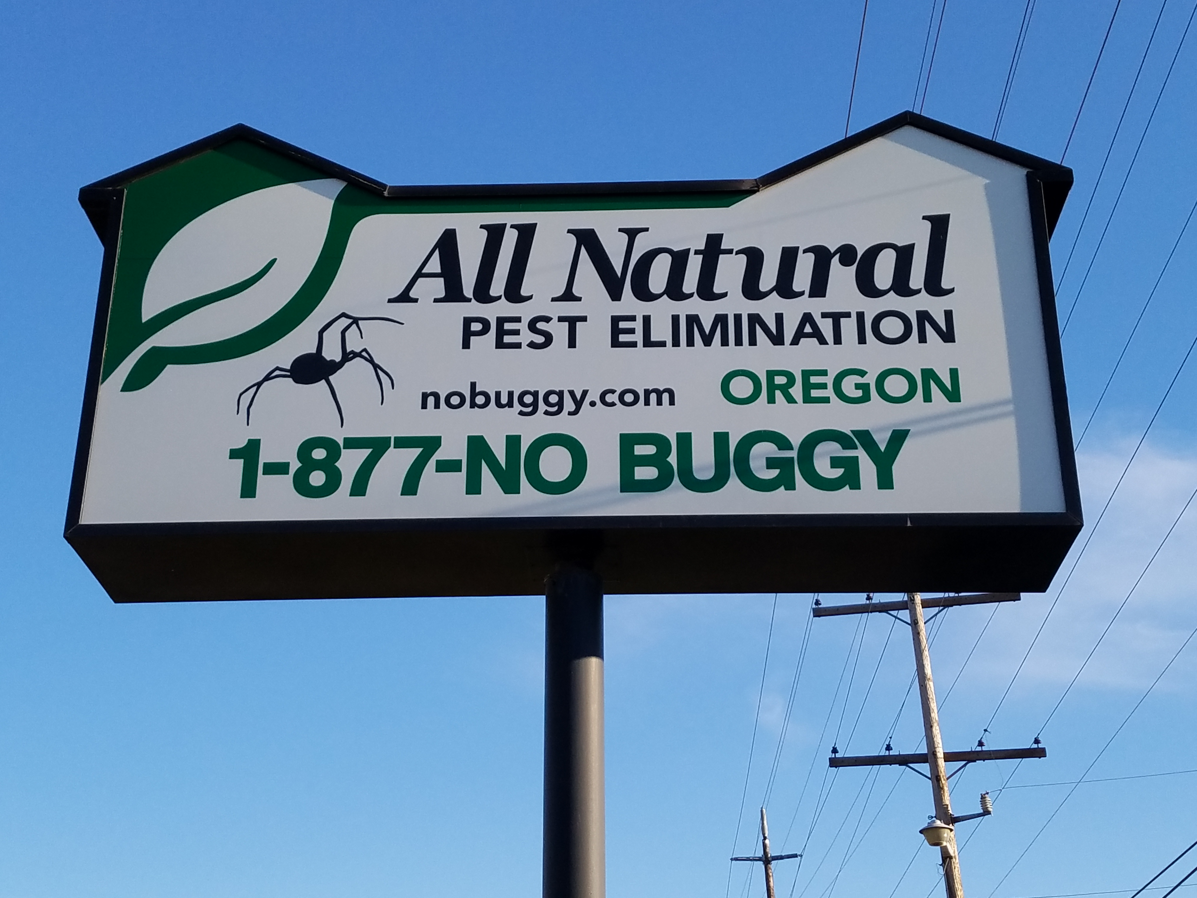 Oregon's #1 Natural Pest Control Service!