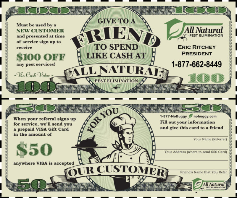Download $100 Referral Bucks