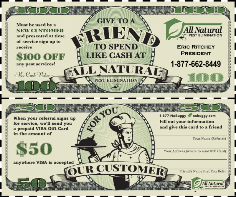 Download $100 Referral Bucks