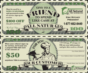 Customer Referral Coupon